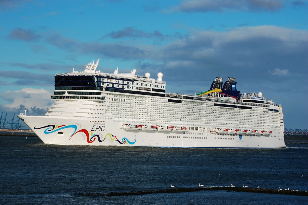 Norwegian Epic : NEWSFLASH!! (1/4)