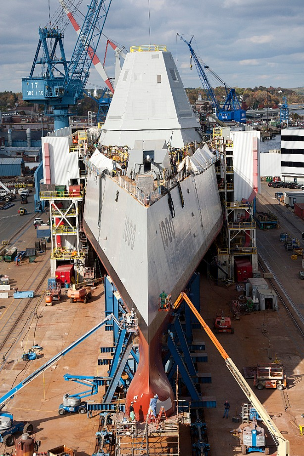 Image courtesy US Navy/General Dynamics Bath Iron Works/Michael C. Nutter via www.gcaptain.com